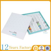 luxury skin care packaging box for facial makeup
