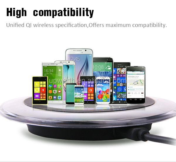 CE ROHS FCC approved qi universal wireless charger receiver with 6 months warranty