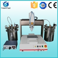 CE listed e-cigarette filling machine / automatic resin dispenser robot