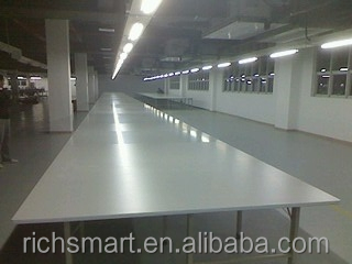 Industrial Fabric Cutting Table With Thickness of 2.5cm MDF(Medium Density Fibreboard)