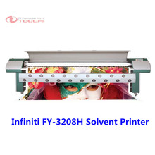 HOT!!! FY 3208H 3.2M 4 colors infinity solvent large format inkjet printer