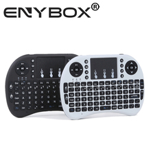 Rii mini i8 Keyboard Russian English Air Mouse Multi-Media Remote Control Touchpad Handheld for Android TV BOX Notebook Mini PC