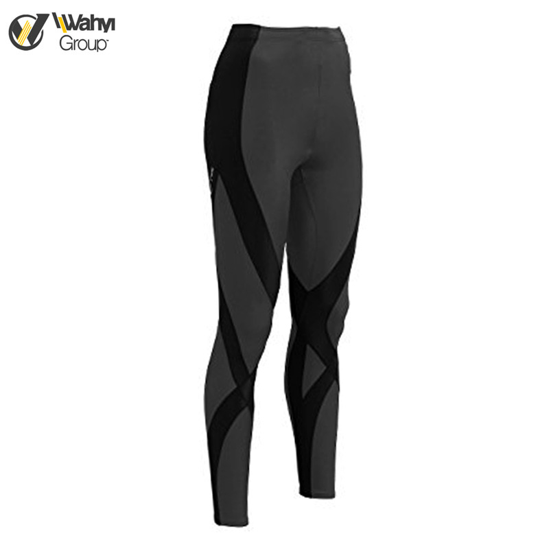 Custom Men's Seamless Running Fitness Quick-dry Base Layer Tights Compression Pants