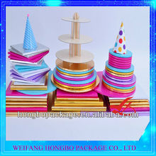 Colorful Round And Square Corrugated Cake Boards/Cake Drum Wholesaler