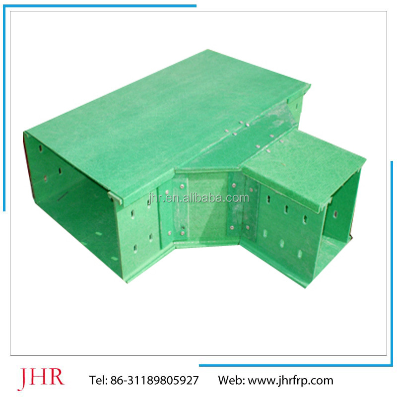 JHR FRP cable trays/ Ladder type with cover plate cable raceway