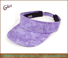Purple Ladies Golf Visor Women Sports Visor Cap
