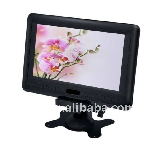 7 inch lcd tv with FM radio