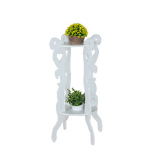2017 New design garden flower pot holders garden pots holder white