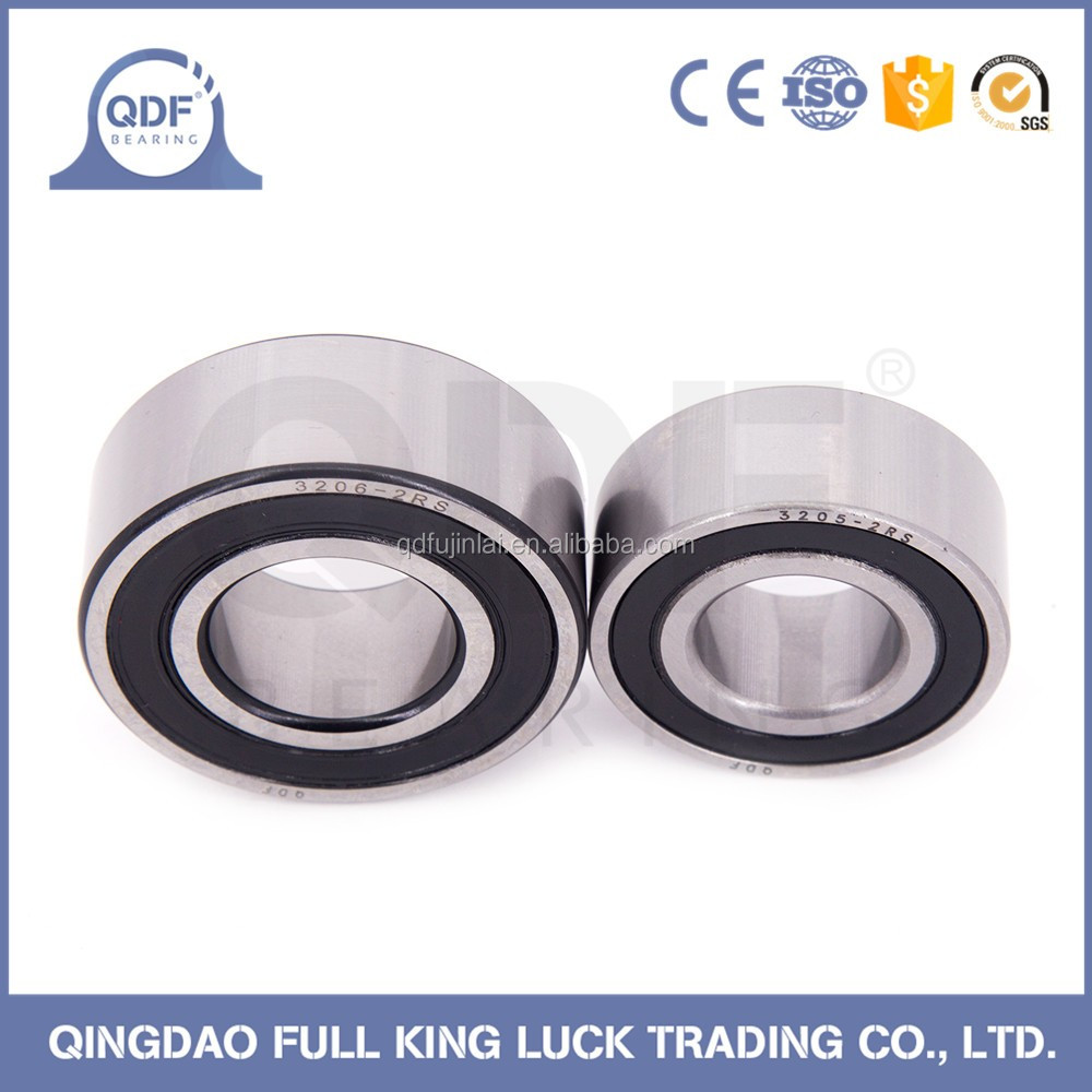 double row angular contact ball bearing 3200 series