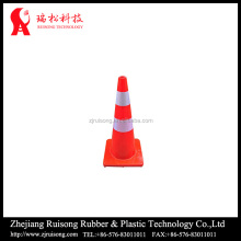 plastic cone shape pvc red traffic cone