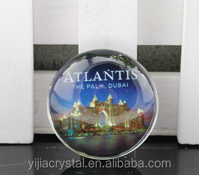 yijia crystal fridge magnet