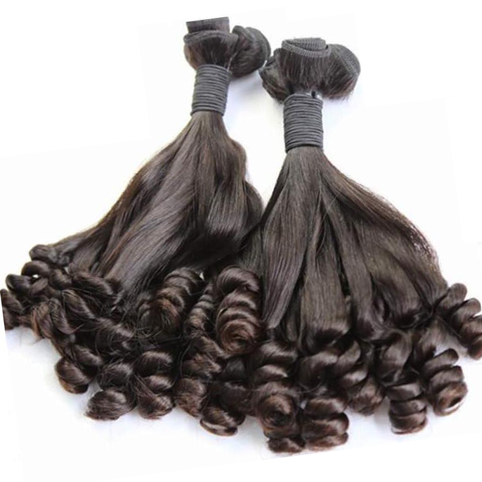 Double Drawn Raw Indian Human Weave Virgin Egg Curls Human <strong>Hair</strong> Cuticle Aligned <strong>Hair</strong>