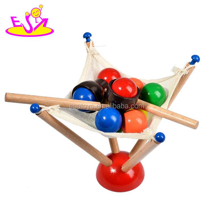 Educational Toys Exercise Hand Flexibility Games Wooden Ball Game For Children W01B079