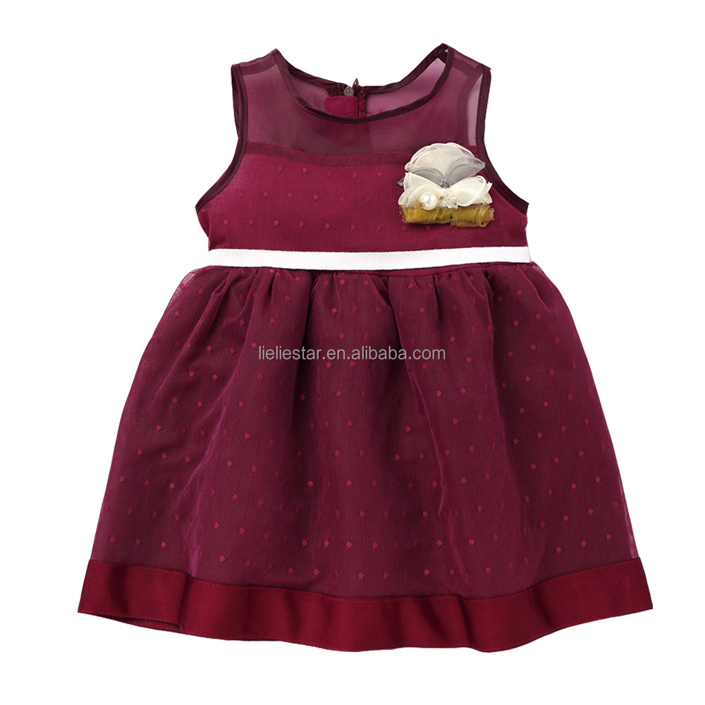 New design Summer Kids Lovely dresses 2017 baby girl party dress children frocks designs