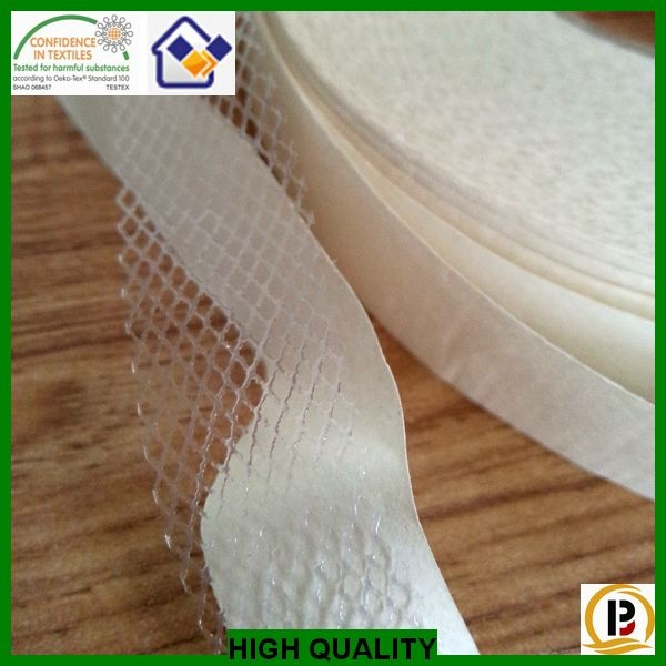 different width cut in tape/hot melt adhesive interlining/entretela/telas/wonderweb for garment
