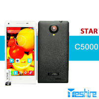 Star C5000 MT6572 1.2G MHZ dual core 4.7 inch IPS screen 5.0MP back camera mobile phone
