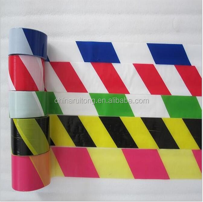 Customized various size PE Warning Tape For Police /White and Red Caution Tape