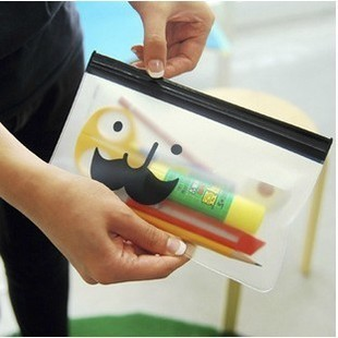 Custom Waterproof vinyl pencil pouch pvc plastic pencil bags