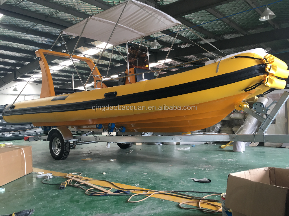 new arrival 6.0m 20ft rigid inflatable boat