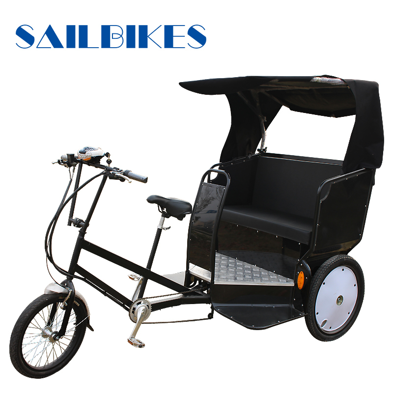 New Passenger Using 3 Wheel Bicycle Rickshaw
