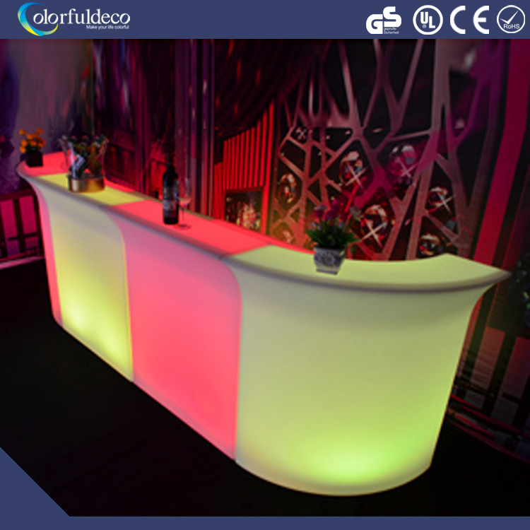 stylish bar furniture stunning led bar counter for party event decoration
