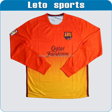 Personalised classical V-neck soccer jersey no brand soccer uniforms