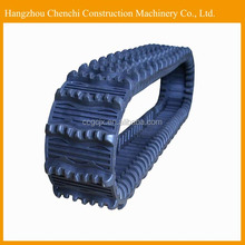 PC45 excavator rubber track parts rubber track chain assy in stock