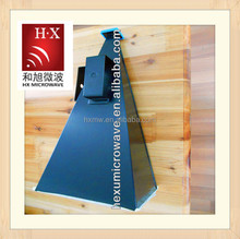 different color microwave waveguide horn antenna