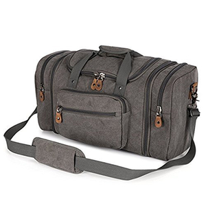 Fashion Large Unisex's Canvas Duffel Bag Oversized Travel Tote Luggage Bag