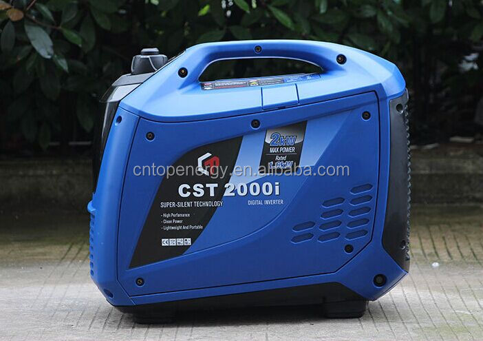 2kW 3kW 5kW Boating Vacation use Compact Gas Pure Sine Wave Inverter Generator