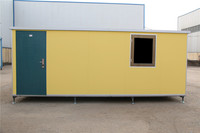 Economical Prefab Side flatpacked folding container house