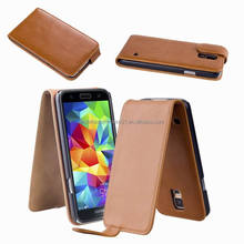 Mobile Phone Cover Flip Leather Case for Samsung Galaxy S5