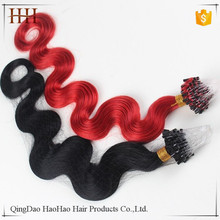 Factory direct sale cheap price marley hair braid micro ring hair extensions for black women