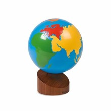 Early Learning Teaching Aids Montessori Baby Toys Earth Globe