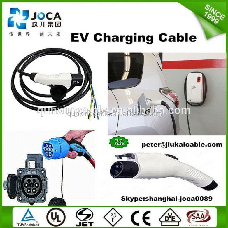 IEC 62196-2 32A 3 point fixed EV Charging Socket / Type 2 connector