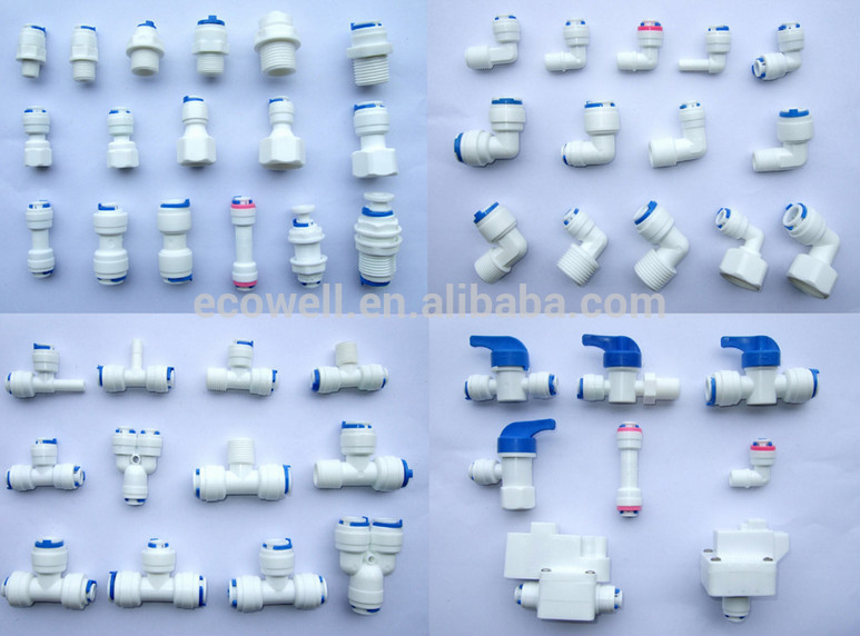 Ro Water Filter Connector Quick Connector Valve Faucet