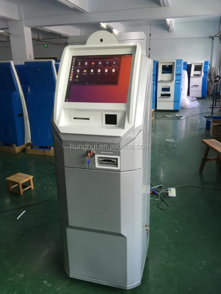 Customized indoor bitcoins Machine with cash in and cash out