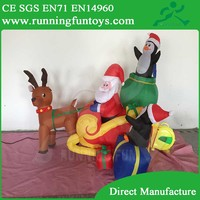 Inflatable Air Blown Christmas Decoration Manufacturer Wholesale for Christmas ICL-0198