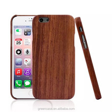 Natural 3 Kinds of Wooden Handmade One Piece Cell Phone Case for Iphone6/6s Plus