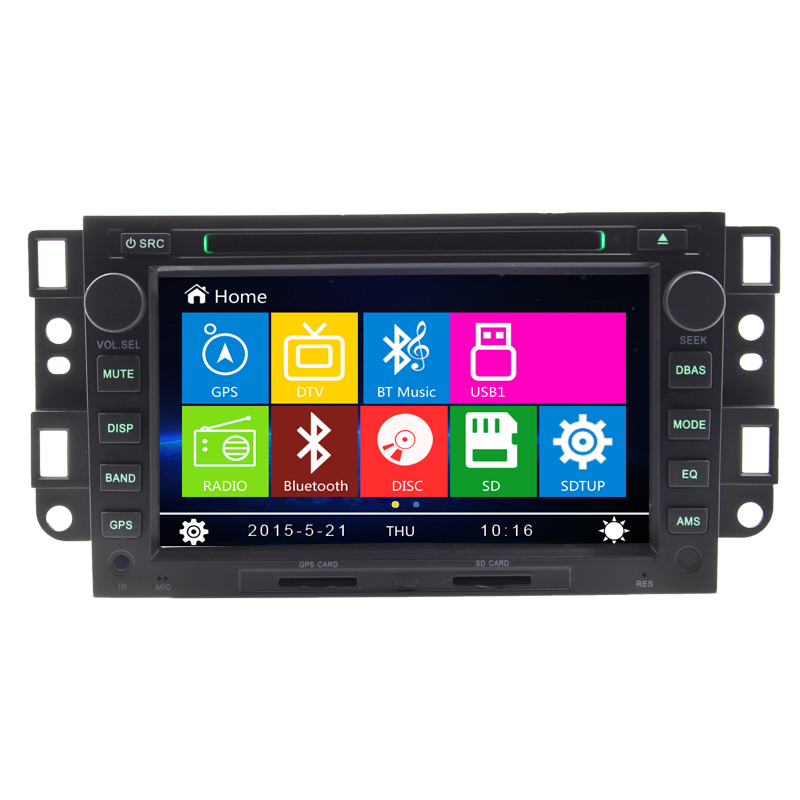 NEW Auto Audio CAR DVD PLAYER for C hevrolet Gps navigation Captiva Epica Aveo Spark 2006-2012 rear camera Radio FM