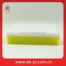 Nano Kitchen Cleaning Sponge Hotsale Yellow and White Magic Sponge