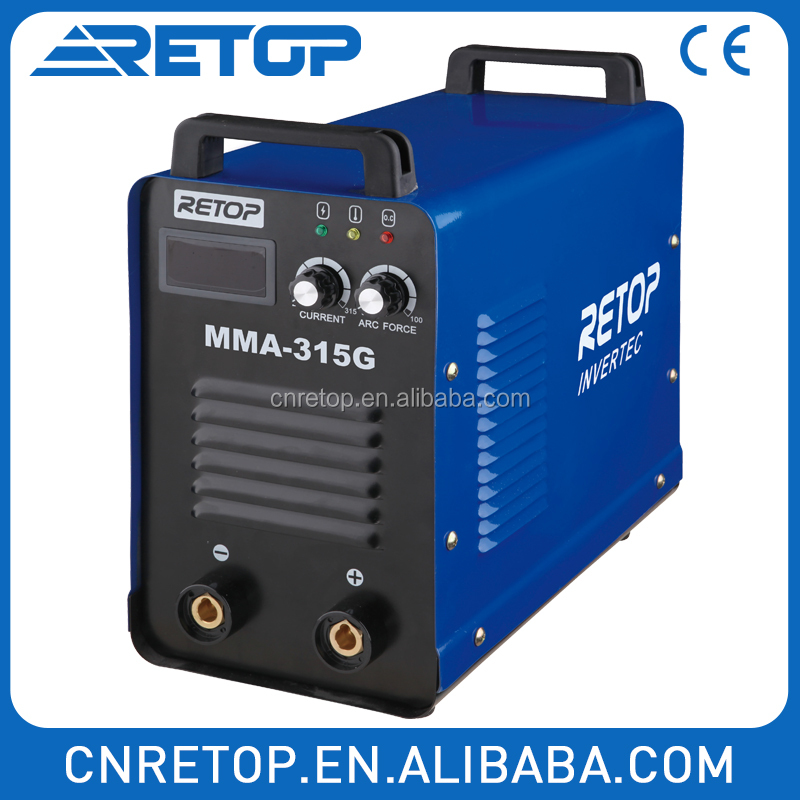 MMA-315G inverter dc 3 phase welding equipment