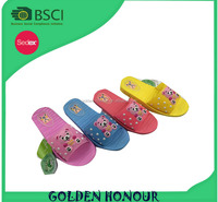 Hot selling kids slippers, manufacturer cheap price beach sandals, pvc eva children shoes