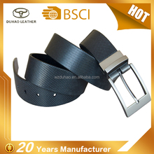 Top Quality Reversible Buckle Belt Full Grain/Genuine Leather Belts For Men