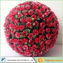 China Wholesale Market Agents hanging artificial flower ball with grass