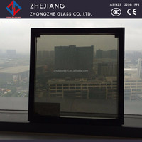 double 5mm glass Low-e insulating glass for window of building