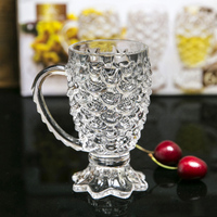 Machine made mermaid wine glass wine cup whisky glass