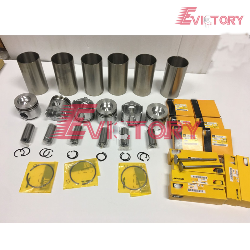 For caterpillar 3116 3116TA piston + ring cylinder sleeve full <strong>engine</strong> gasket bearing <strong>valve</strong> <strong>engine</strong> rebuild kit