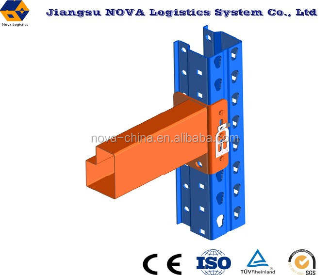 Warehouse steel American teardrop pallet rack system for hot sale