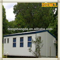 China metal proofing steel structure prefabricated house for sale